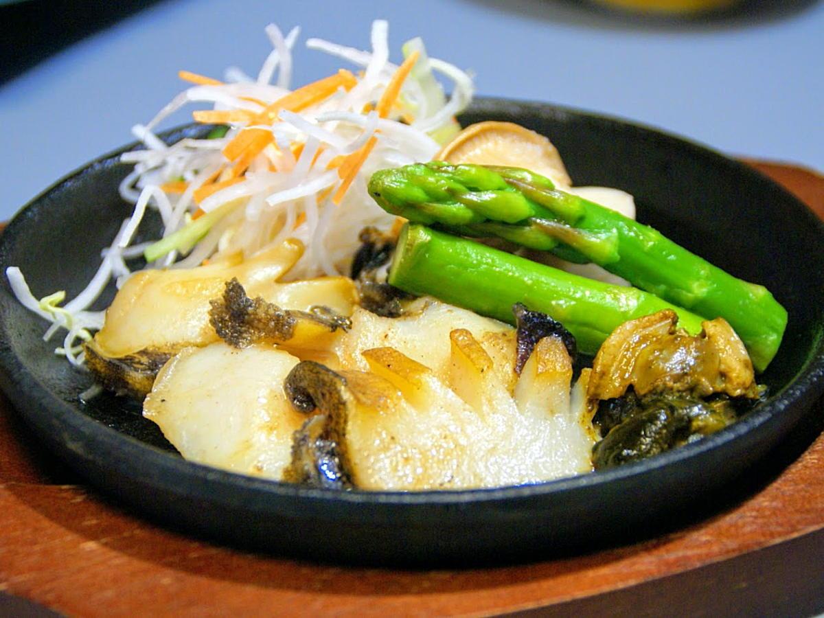 【アワビ三昧】和具産アワビのお造り、バター焼、天ぷら☆ とにかくアワビづくしプラン♪